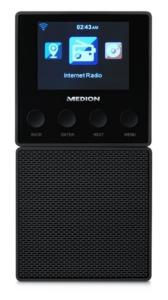 Steckdosenradio mit WLAN-Funktion