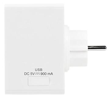 MEDION LIFE P65700 Steckdosenradio mit Bluetooth- Funktion, Bluetooth 4.2, NFC, PLL UKW Radio, integriertes Nachtlicht, weiß - 3