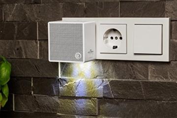 MEDION LIFE P65700 Steckdosenradio mit Bluetooth- Funktion, Bluetooth 4.2, NFC, PLL UKW Radio, integriertes Nachtlicht, weiß - 8